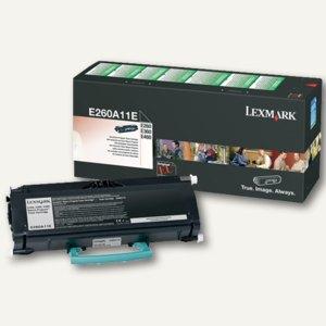 Lexmark Rückgabe-Tonerkassette, schwarz, E260A11E