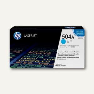 HP Lasertoner 504A, cyan, CE251A