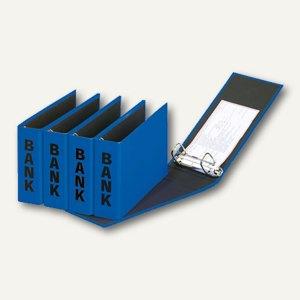 Pagna Bankordner, DIN A6 quer, blau, 40801-06
