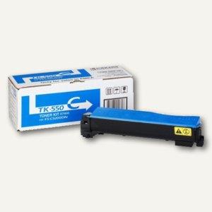 Kyocera Toner für Laserdrucker FSC5200DN, cyan, TK550C