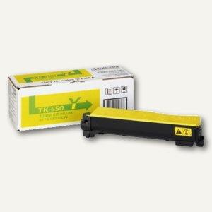 Kyocera Toner für Laserdrucker FSC5200DN, gelb, TK550Y