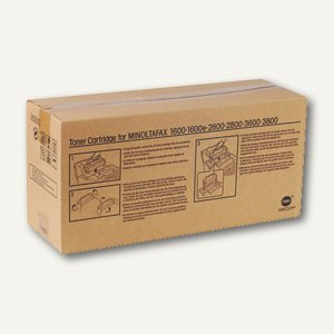 Konica Minolta Toner schwarz für Multifunktionslaser, 4518-601