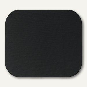 Fellowes Mousepad, gummierte Unterseite, 232x210x5 mm, schwarz, 58024