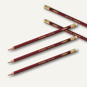 STABILO Bleistift Schwan mit Radiergummi Härte: HB, 4906