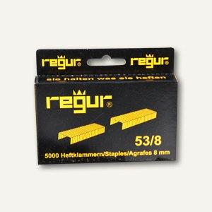 Regur Heftklammern für Handtacker R-45/R-53, R-53/8, 5000er Pack, R-53/8