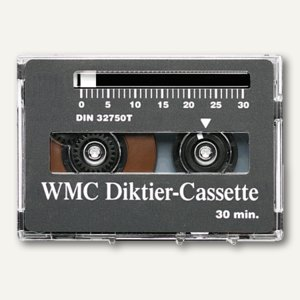 WMC Cassetten für Grundig Diktiergerät, 24101/1.30