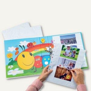 Herma Fotophan-Sichthüllen, 9 x 13 cm, quer, weiß, 10 Hüllen, 7584
