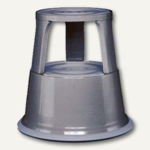 Wedo Rollhocker Metall, 43 cm, 150 kg, grau, 212112