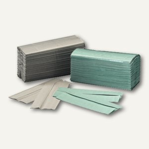 Papierhandtücher, 25 x 23 cm, Zick-Zack, Krepp-Qualität, 5.000 St., 404650