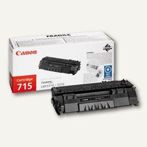 """Canon Lasertoner """"715"""", ca. 3.500 Seiten, schwarz, 1975B002"""