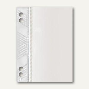 Veloflex Doppel-Heftfix, Klebefläche 6 x 10 cm, PP, glasklar, 50 St., 2006 500
