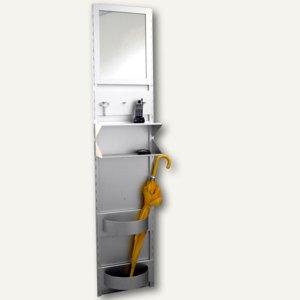 Garderobensystem aus Aluminium