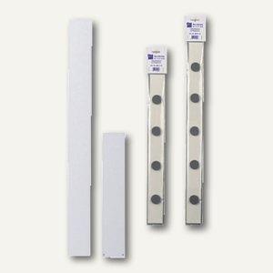officio Wandleiste für Magnete, 100 x 5 cm, inklusive 4 Magnete, 691A10