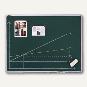 Kreidetafel X-tra! Line - 1.200 x 900 mm, magnethaftend, Alurahmen, grün, KR2503