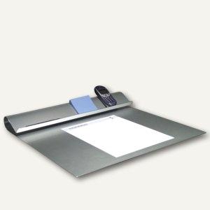 officio Schreibtischunterlage aus eloxiertem Aluminium, 45 x 45 cm