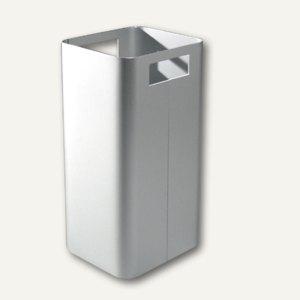 Papierkorb aus eloxiertem Aluminium