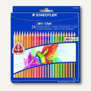Staedtler Schreiblernstifte Noris Club Triplus 127, sortiert, 24er-Set, 127 NC24