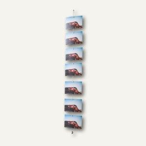 Fotohalter mit 8 Magneten - 1.0 m lang