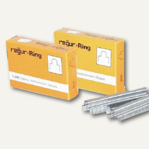 Gold Ringösen-Heftklammern RR 8mm