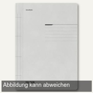 officio Karton- Schnellhefter DIN A4, grau, 100er Pack