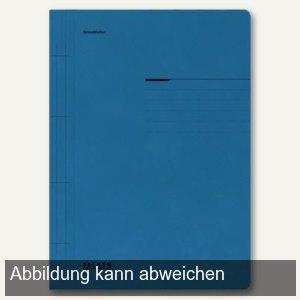 officio Karton- Schnellhefter DIN A4, blau, 10er Pack