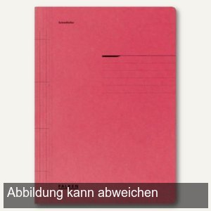 officio Karton- Schnellhefter DIN A4, rot, 100er Pack