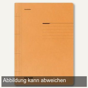 officio Karton- Schnellhefter DIN A4, orange, 10er Pack