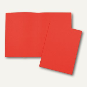 officio Aktendeckel DIN A4, orange, 24 x 32 cm, 100er Pack