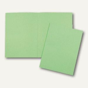 officio Aktendeckel DIN A4, grün, 24 x 32 cm, 10er Pack