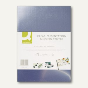 officio Einbanddeckel, PVC, DIN A4, 0.15 mm, glasklar, 100 Stück