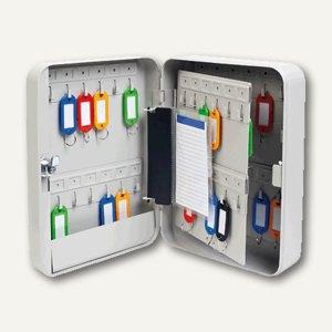 officio Schlüsselkasten, für 45 Schlüssel, lichtgrau