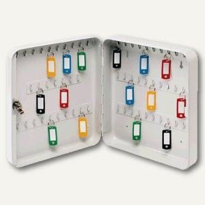 officio Schlüsselkasten, für 60 Schlüssel, lichtgrau
