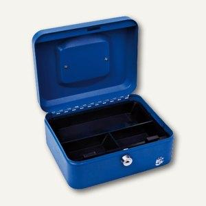 officio Geldkassette mit Münzeinlage, 15 x 78 x 20 cm, blau