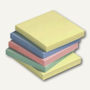officio Haftnotizen, pastell sortiert, 76 x 76 mm, 12 Blöcke, FT510094947