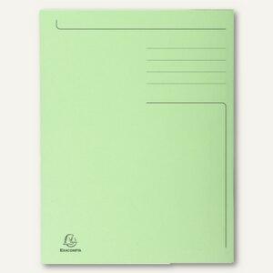 officio Einschlagmappe, DIN A4, 3 Klappen, grün