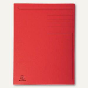 officio Einschlagmappe, DIN A4, 3 Klappen, rot, 921573