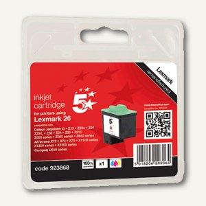 officio Tintenpatrone ersetzt Lexmark 10N0026, 11 ml, 3-farbig