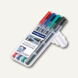 Artikelbild: Lumocolor Permanent-Marker duo - Rundspitze
