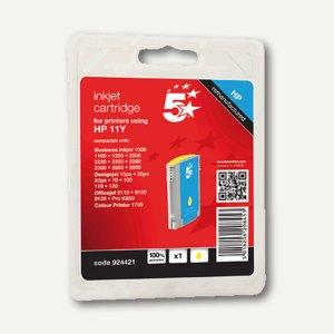 officio Tintenpatrone für HP C4838A, gelb, 28 ml, 924421