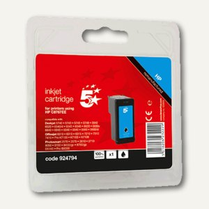 officio Tintenpatrone schwarz kompatibel zu HP C8767EE Nr.339, 34 ml