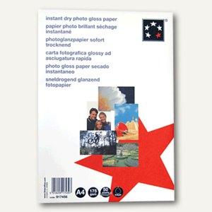 "officio Premier InkJet-Fotopapier ""glossy"", 100x150mm, 260 g/m², 50 Blatt,924928"