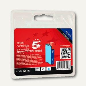 officio Tintenpatrone für Epson T071240, cyan, 5.5 ml, 926142