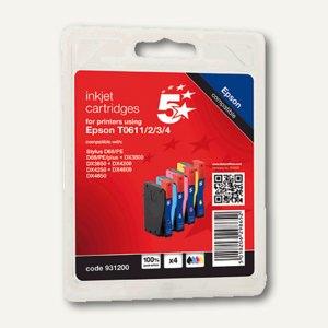 Tintenpatrone für Epson, Multipack farbig, B-300/500DN, 4x 8 ml, T06154010