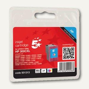 officio Tintenpatrone für HP Deskjet D2560 F4280, 3-farbig, 18 ml, 931313