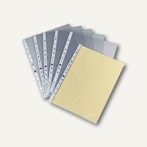 officio Prospekthüllen, DIN A4, PP, 90 my, geprägt, oben offen, 100 Stück,931753