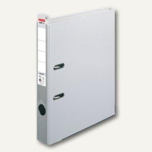 Herlitz Ordner maX.file protect 50 mm, Wechselfenster, grau, 5450903