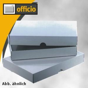 Stülpverpackung Normpack DIN A4, 302x215x80mm, weiß, 50 Stück, 5504953