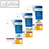 Details zu Herma CD/DVD-Einleger, ge...
