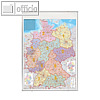 Details zu Deutschlandkarte Postleit...