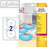 Details zu Zweckform CD-Etiketten Su...